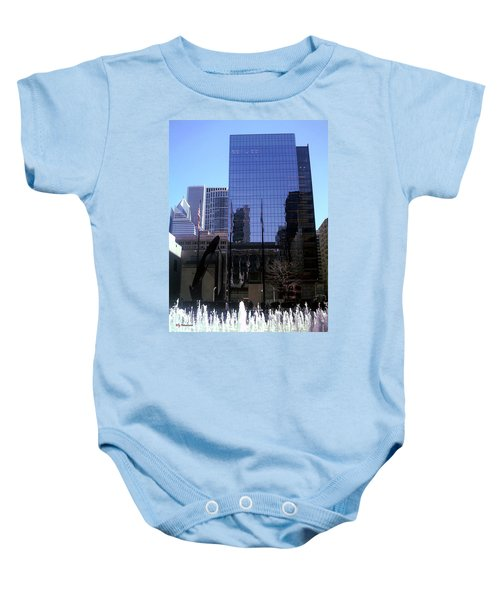 Fountain View Baby Onesie