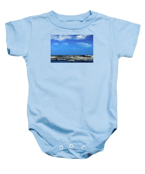 Freeport Texas Seascape Digital Painting A51517 Baby Onesie