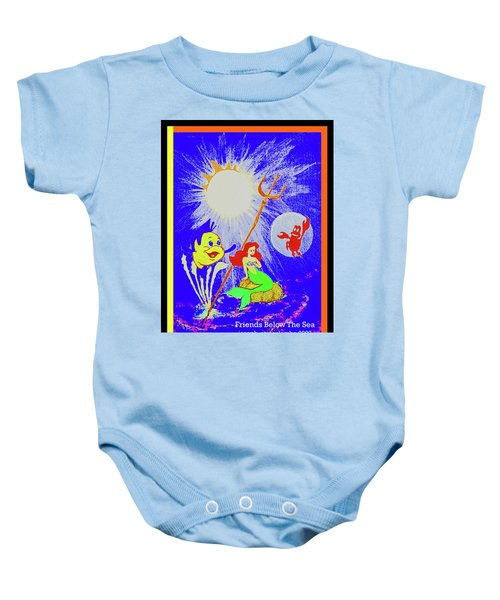 Friends Below The Sea Baby Onesie
