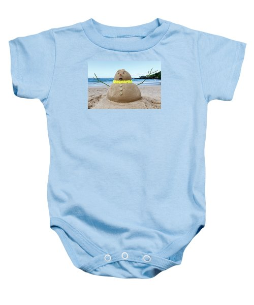 Frosty The Sandman Baby Onesie