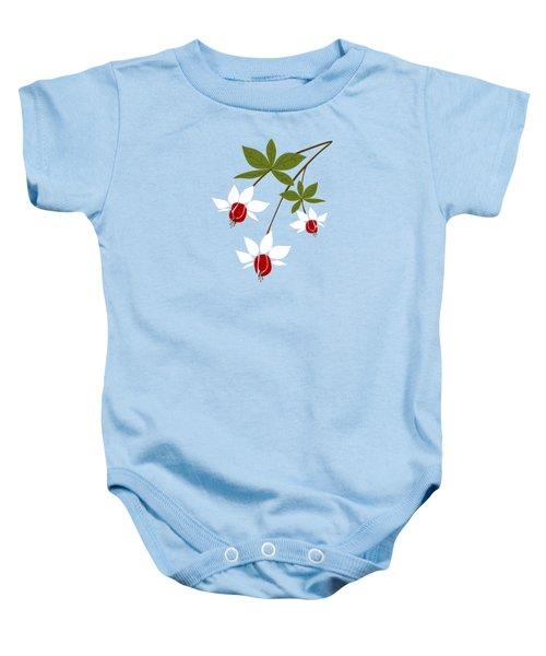Fuchsia Baby Onesie