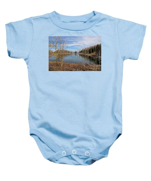 Gates Lake Baby Onesie