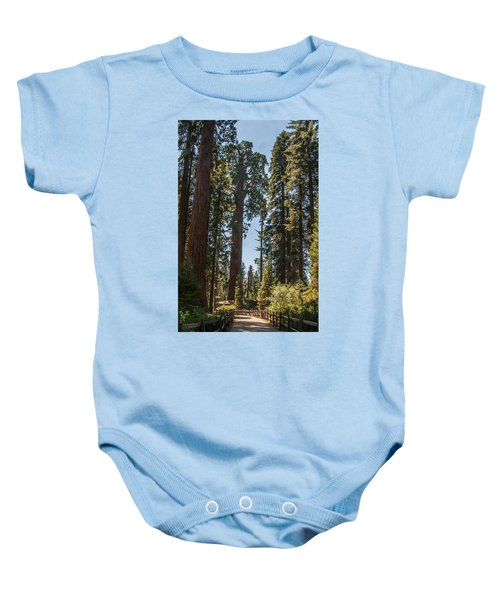 General Grant Tree Kings Canyon National Park Baby Onesie