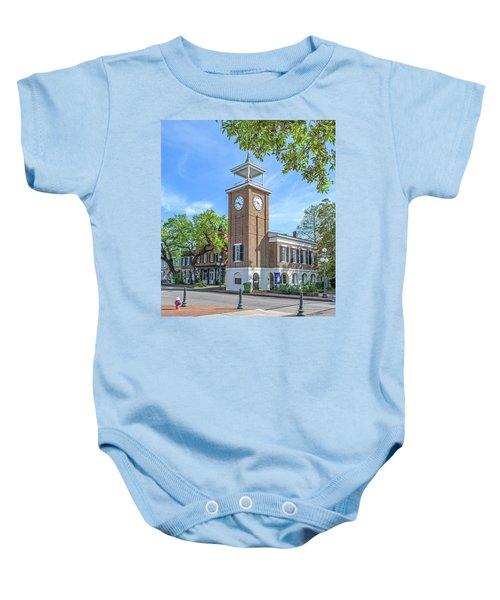 Georgetown Clock Tower Baby Onesie