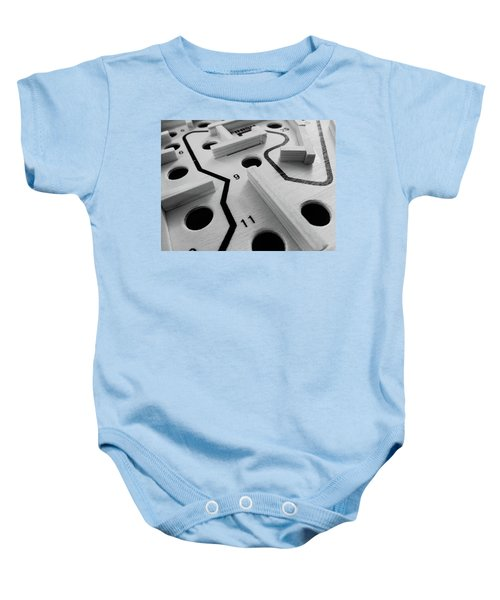 Get Me To The Finish Baby Onesie