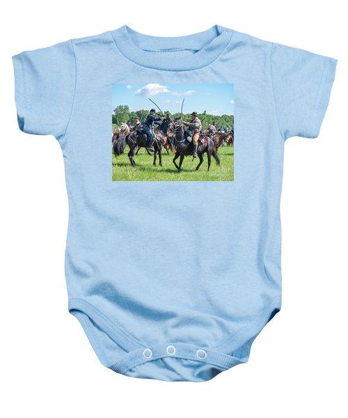 Gettysburg Cavalry Battle 7978c  Baby Onesie