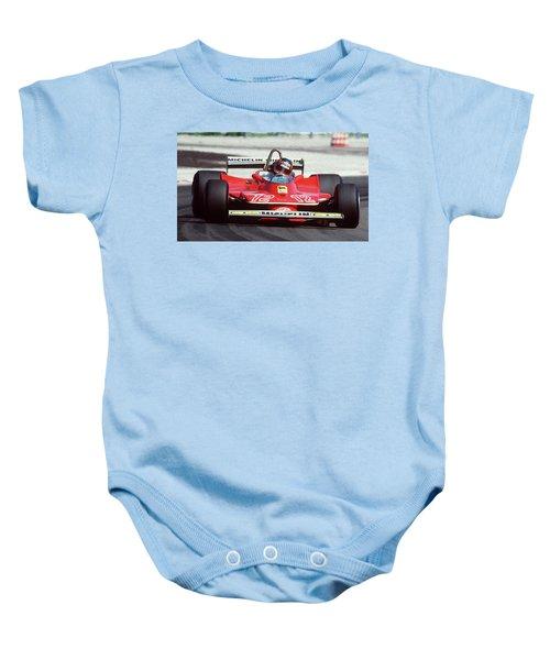 Gilles Villeneuve, Ferrari Legend - 01 Baby Onesie
