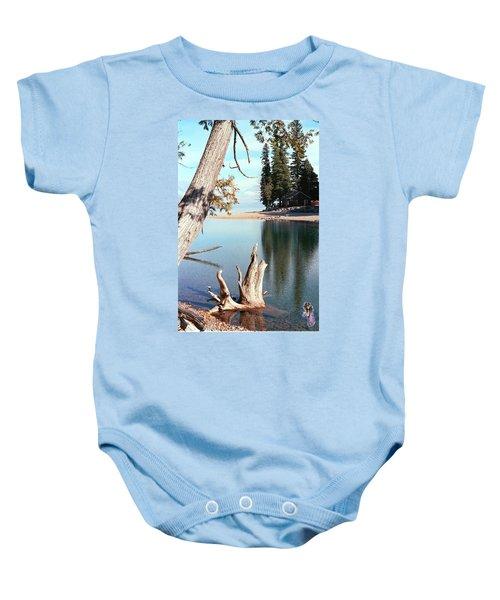 Glacier National Park 4 Baby Onesie