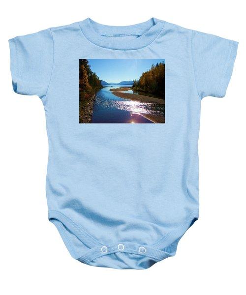 Glacier Park 9 Baby Onesie