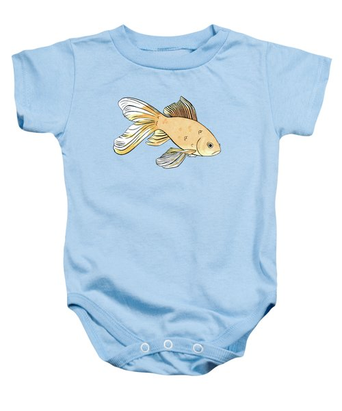 Glum Goldfish Baby Onesie