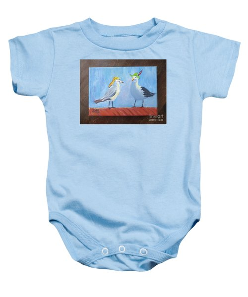 Going To The Hat Parade Baby Onesie