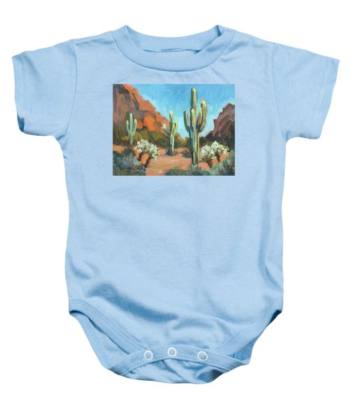 Gold Canyon Baby Onesie