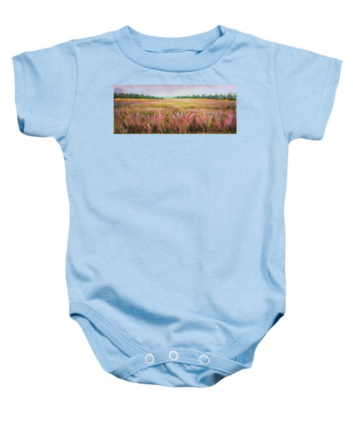Golden Field Baby Onesie