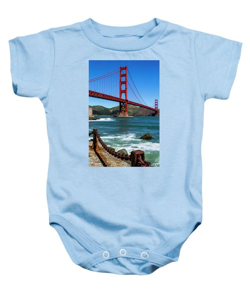 Golden Gate Bridge From Fort Point Baby Onesie