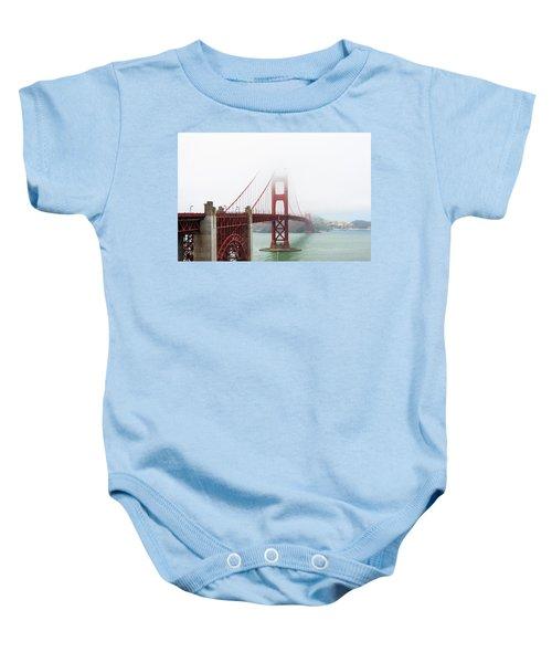 Golden Gate In The Fog Baby Onesie