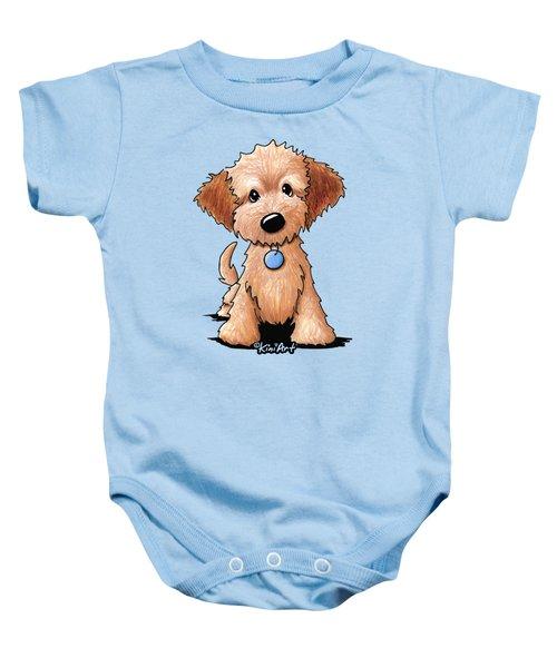 Goldendoodle Puppy Poster Baby Onesie