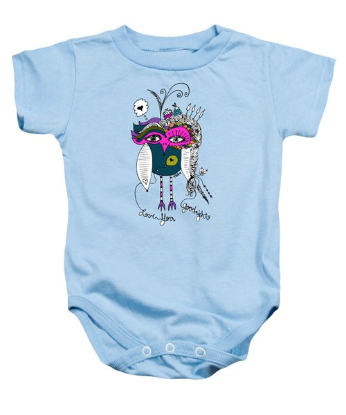 Goodnight Owl Baby Onesie