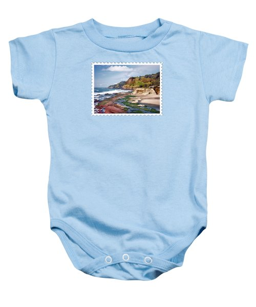 Gorgeous Oregon Coast Baby Onesie
