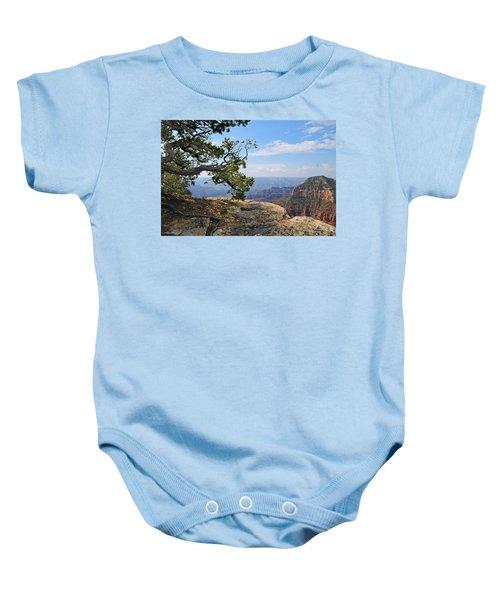 Grand Canyon North Rim Craggy Cliffs Baby Onesie