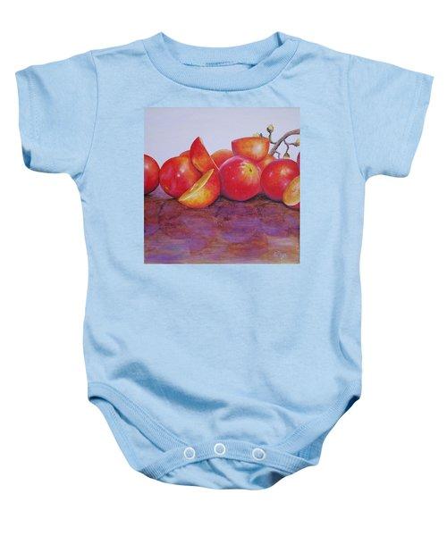 Grapes Baby Onesie