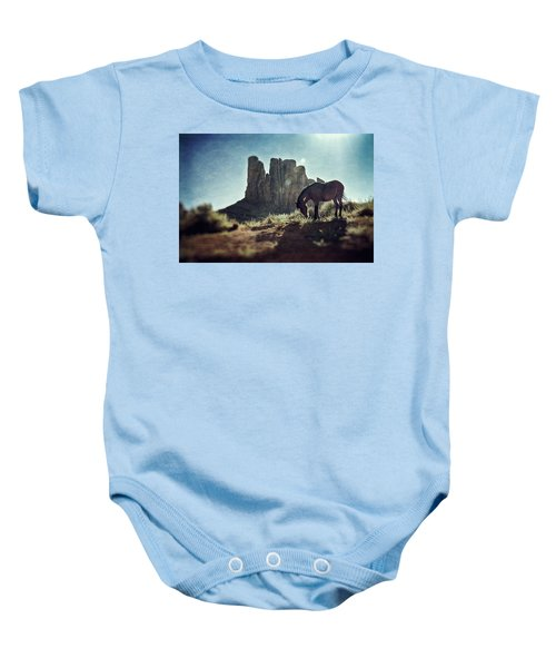Greetings From The Wild West Baby Onesie