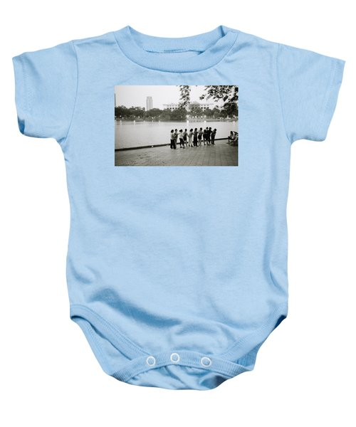 Group Massage Baby Onesie