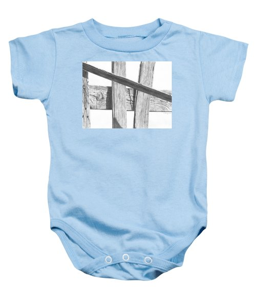 Guarding Time Baby Onesie