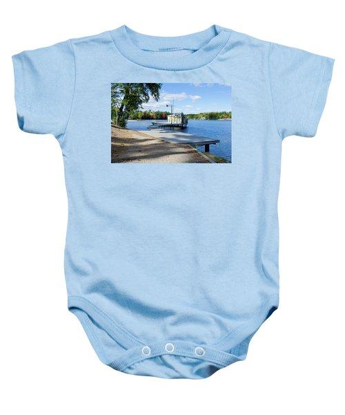Gull Lake Park Gravenhurst 2 Baby Onesie