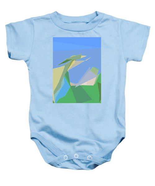 Hailing A Taxi Baby Onesie