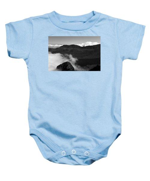 Haleakala B/w Baby Onesie