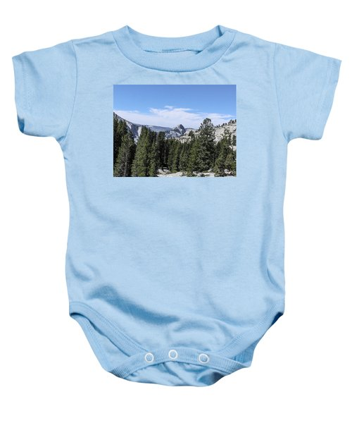 Half Dome From Olmstead Point Yosemite Valley Yosemite National Park Baby Onesie