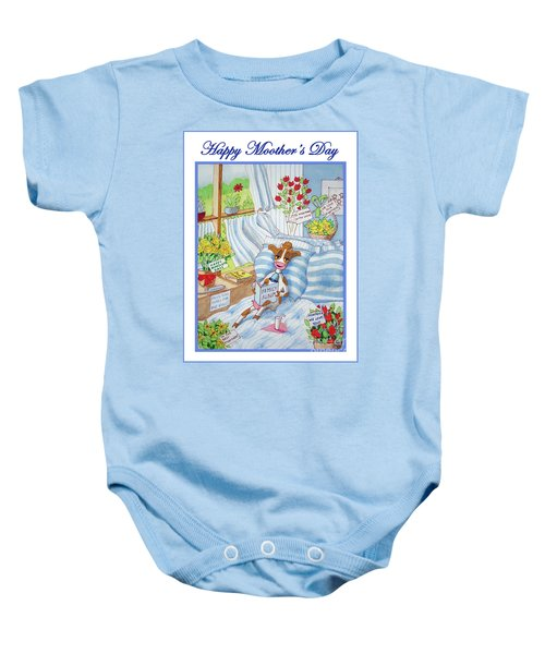 Happy Moother's Day Baby Onesie