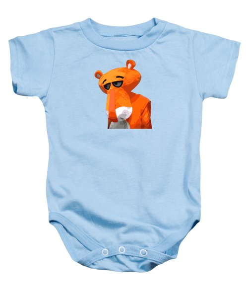 Happy Panther Baby Onesie
