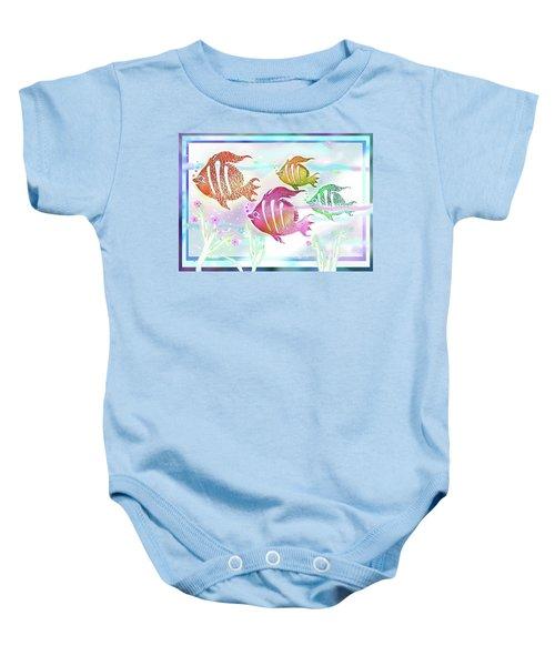 Happiness Is A Clean Ocean  Baby Onesie