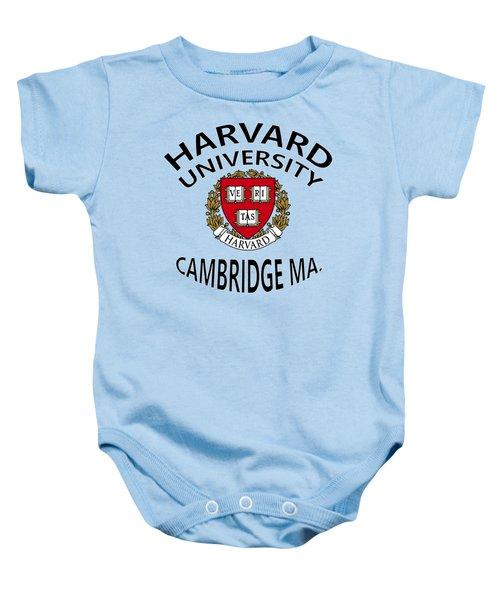 Harvard University Cambridge M A  Baby Onesie