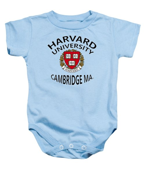 Harvard University Cambridge M A  Baby Onesie