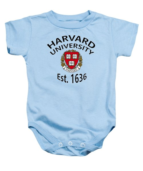 Harvard University Est 1636 Baby Onesie