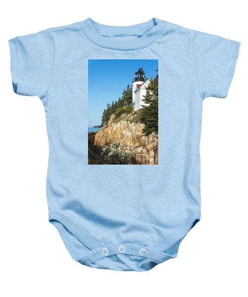 Head Lighthouse Baby Onesie