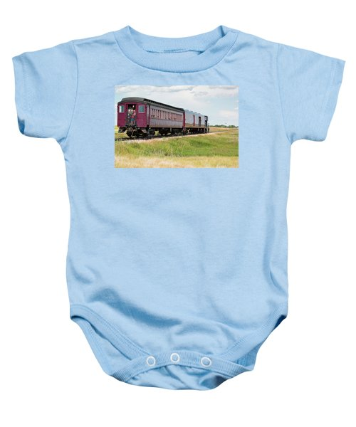 Heading To Town Baby Onesie