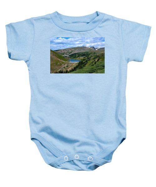 Heart Lake In The Indian Peaks Wilderness Baby Onesie