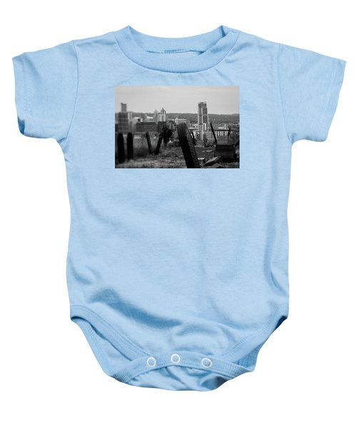 Heaven And Earth Baby Onesie