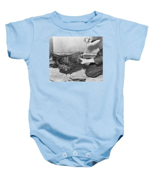 Henry The Headless Rooster Baby Onesie
