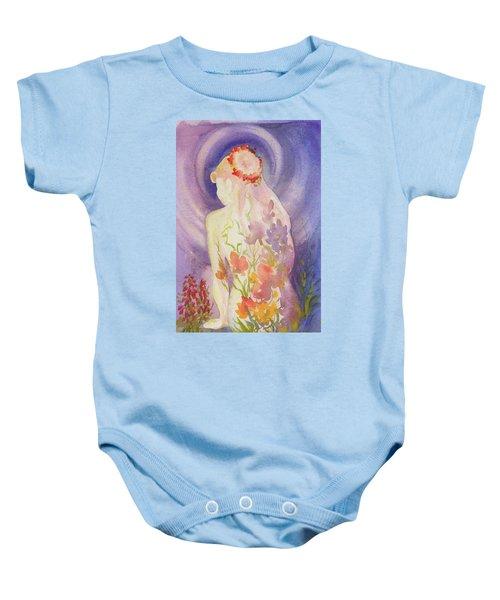 Herbal Goddess  Baby Onesie