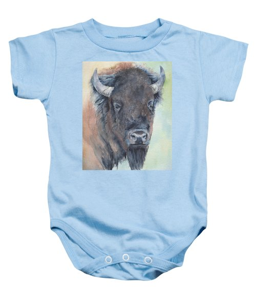 Here's Looking At You - Bison Baby Onesie