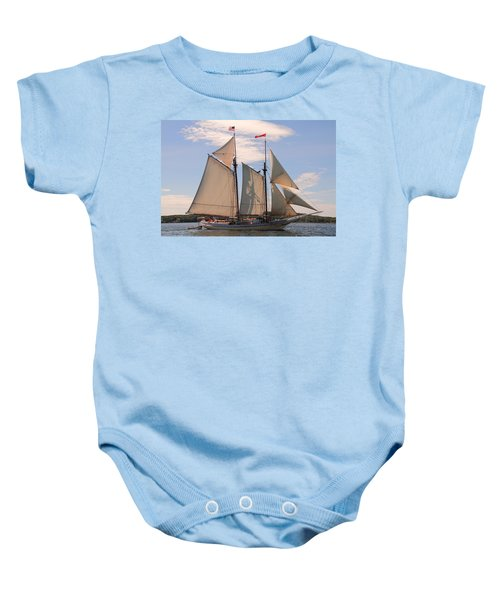 Heritage Full Sail Baby Onesie