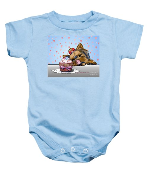 Hey There Cupcake Baby Onesie