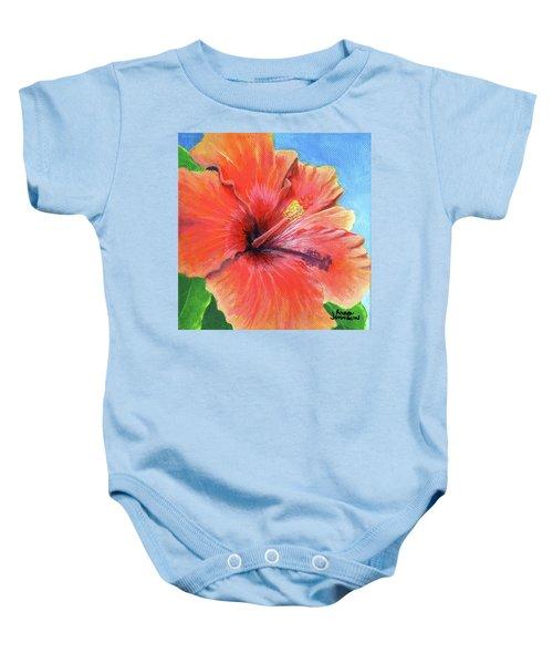 Hibiscus Passion Baby Onesie