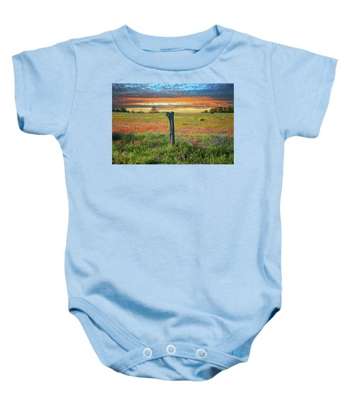 Hill Country Heaven Baby Onesie