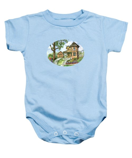 Hilltop Home Baby Onesie by Shelley Wallace Ylst
