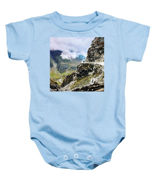 Himalayan Roads Are Good For Your Baby Onesie